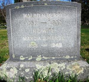 Gravestone: Waldo H. Perry