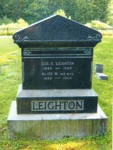 LEIGHTON-GEORGE E-CEM