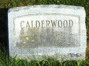 CALDERWOOD-A LAWRENCE-CEM