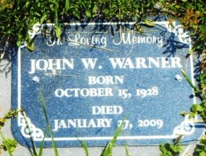 WARNER-JOHN W-CEM