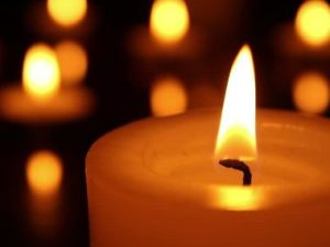 image of candle burning